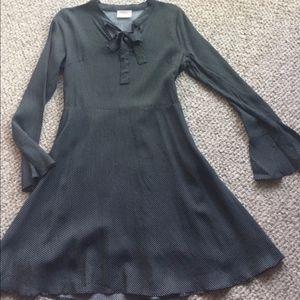 Vintage 70's Polka Dot Dress, ModCloth Moon